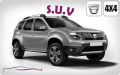 Dacia DUSTER DIESEL CLIM (100KMS/JOUR)