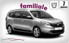 Dacia LODGY DIESEL CLIM (100KMS/JOUR)